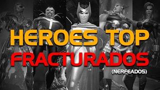 Heroes Top Fracturados | Marvel Batalla de Superheroes