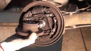 Radlager ersetzen hinten Polo 9N ( Tutorial ) Bremstrommel ausbauen