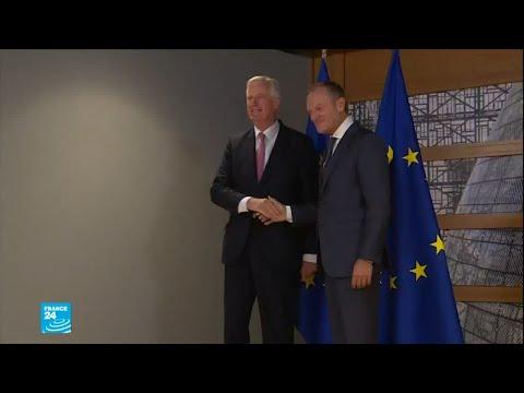 العرب اليوم - شاهد:وزراء الخارجية الأوربيين يضغطون على لحكومة البريطانية لإعادة النظر في استراتيجيتها لمغادرة التكتل
