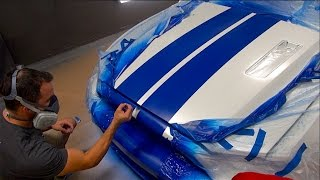 How To Spray Racing Stripes With Plasti Dip