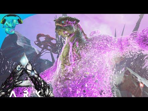 ARK: EXTINCTION - KING TITAN BETA BOSS BATTLE ASCENSION