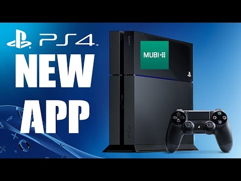 NEW PS4 APP MUBI Release Today Preview & Review PlayStation News NA