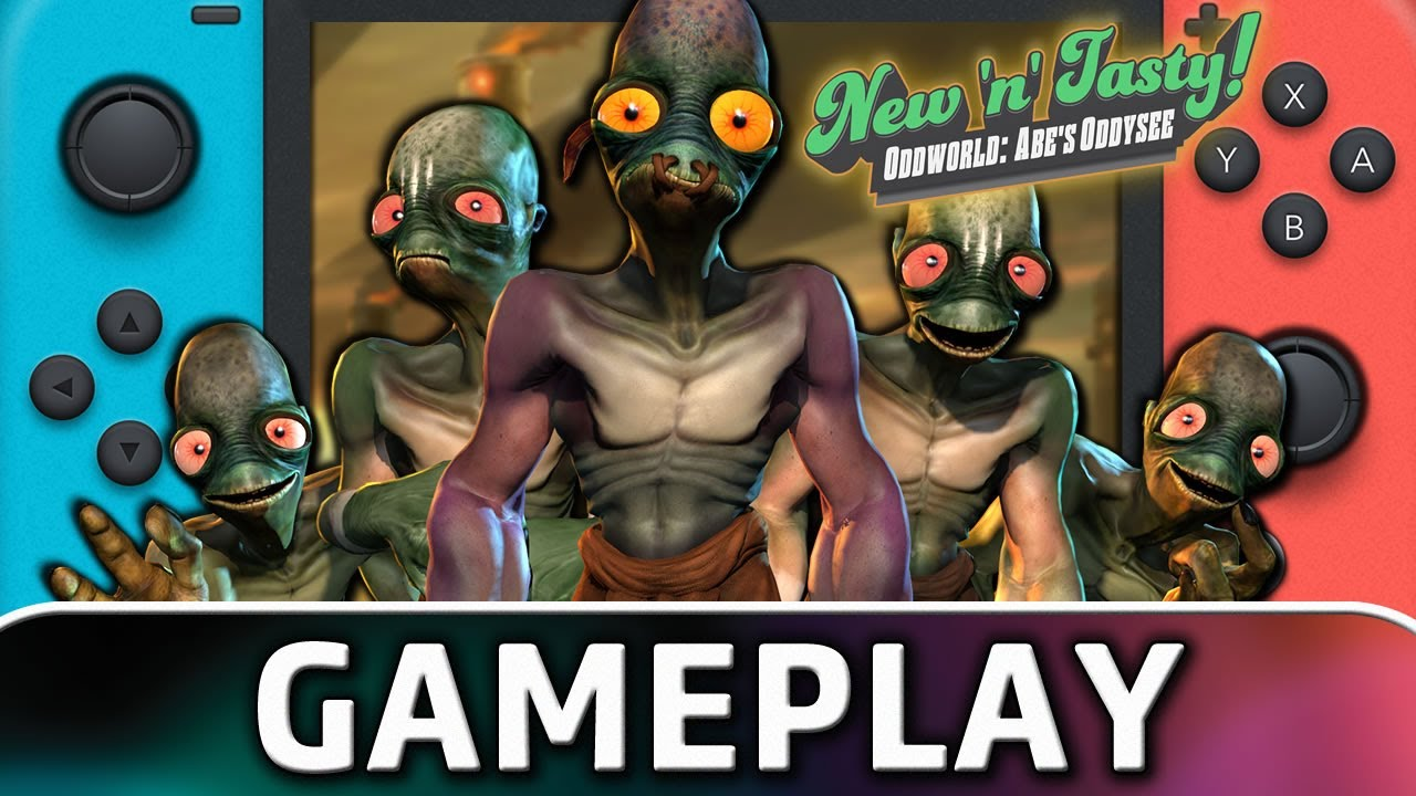 Oddworld: New 'n' Tasty | Nintendo Switch Gameplay