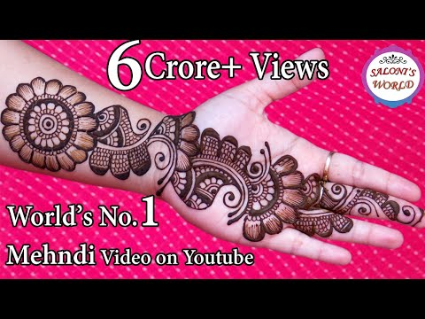 simple arabic henna mehndi designs 3d mehndi designs