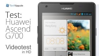 Huawei Ascend G700   Test in deutsch (HD)