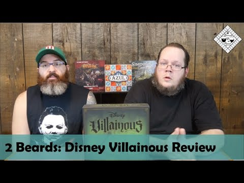 2 Beards: Disney Board Game Villainous Review