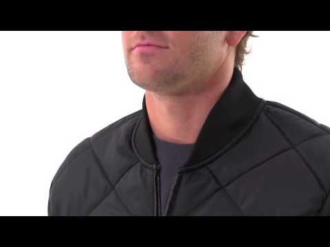 Men's Diamond Quilted Jacket video thumbnail