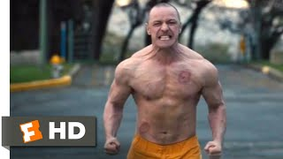 Glass (2019) - Parking Lot Fight Scene (6/10) | Movieclips