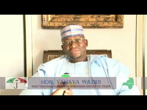 HON YAHAYA WAZIRI YATAYA GWAMNAN ZAMFARA HIS EXCELLENCY BELLO MATAWALLE MURNAR CIKA KWANA 100