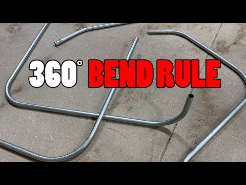 360 Degree Bend Rule – Conduit Bending
