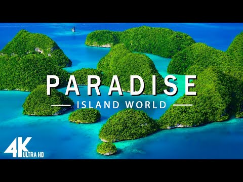 FLYING OVER PARADISE (4K UHD) - Relaxing Music Along With Beautiful Nature Videos - 4K Video UltraHD