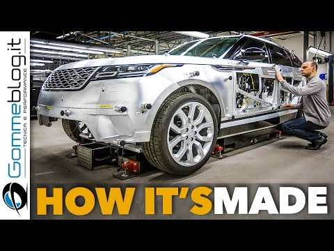 Inside looks at the making of the Range Rover Velar