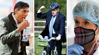 video: Fishing for votes, pedalling for power: Politicians wheel out gimmicks on final day of campaigning