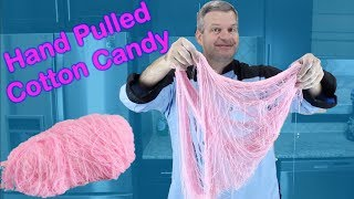 Hand Pulled Cotton Candy | How to Make Dragon's Beard