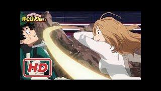 Deku vs Camie Utsushimi // Provisional License Exam