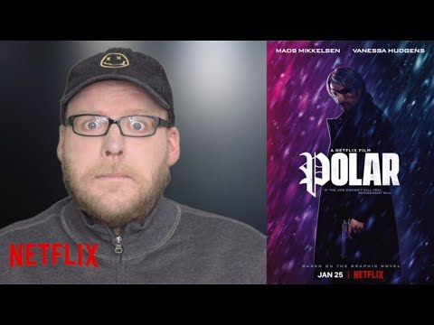 Polar | NETFLIX Movie Review | Mads Mikkelsen Action Flick | Spoiler-free