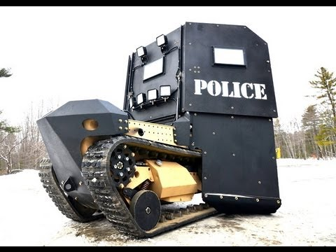 Monster Machines: Crooks Don't Stand A Chance Against The SWAT Bot