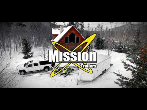 2021 Mission Trailers MFS7.5x16 Crossover in Sandpoint, Idaho - Video 1