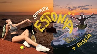 SUMMER in ESTONIA + RUSSIA 2019 | Moscow, Tallinn vlog