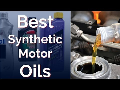 Top 8 Best Synthetic Oils 2018 - 2019 Synthetic Motor Oils Review
