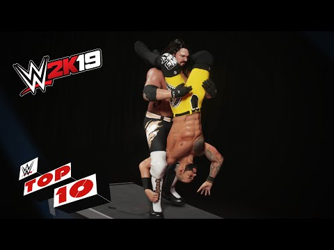 Extreme Finishers on the Announcer's Desk: WWE 2K19 Top 10
