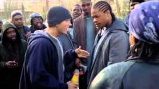 8 Mile - Eminem Freestyle in the Parking Lot (Lunch Truck Scene)