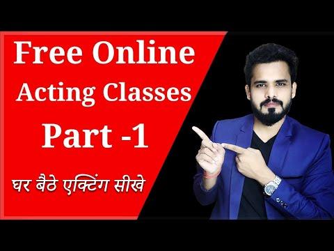 Free Online Acting Classes Part-1| घर बैठे  एक्टिंग सीखे | Acting Tips Hindi |Acting Tutorial |9Ras