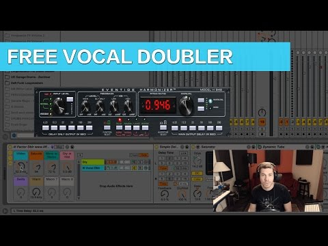 Ableton Tutorial: 80's Style Vocals with this Free Vocal Doubler