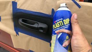 Plasti Dip My Door Handles