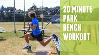 Park Bench Workout | The Body Coach by The Body Coach TV