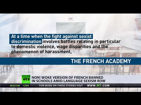 Non! Woke version of French banned in schools amid language sexism row