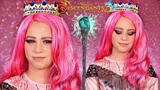 Disney Descendants 3 Audrey Queen Of Mean Makeup And Costume!