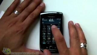 BlackBerry Torch 9800 full demo video
