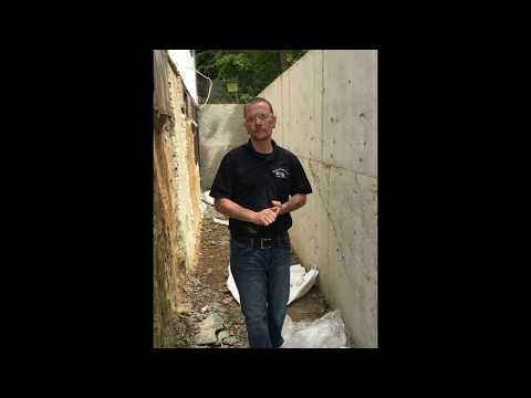 Jake explains the trouble with exterior waterproofing on some older foundations as well as what a