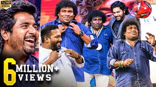 Yogi Babu, Robo Shankar, Sandy- Therika Vidum Dance & Live Football Match on Stage! Laughter Riot!