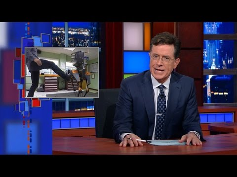 Stephen Colbert - Nerdi versus roboti