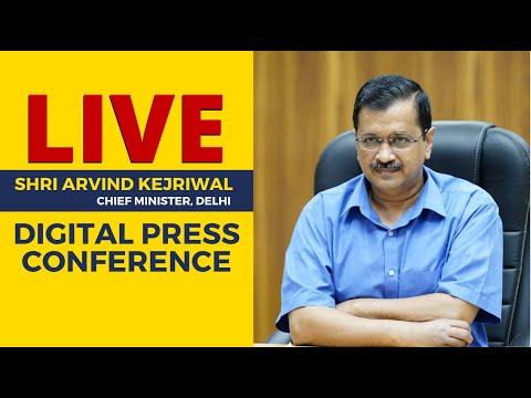 Situation in Delhi is well under control. CM Arvind Kejriwal sharing details. Press conference |LIVE