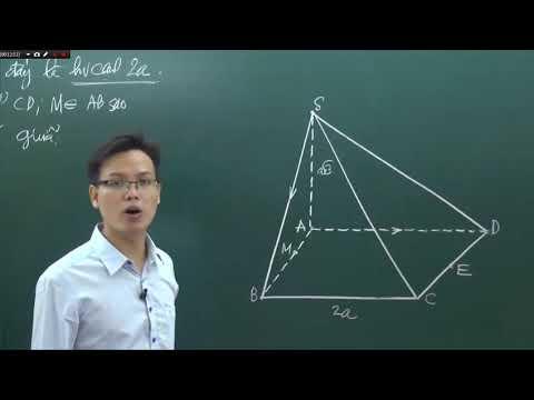 BÀI 2: Hai đường thẳng vuông góc (Nguồn: ST)