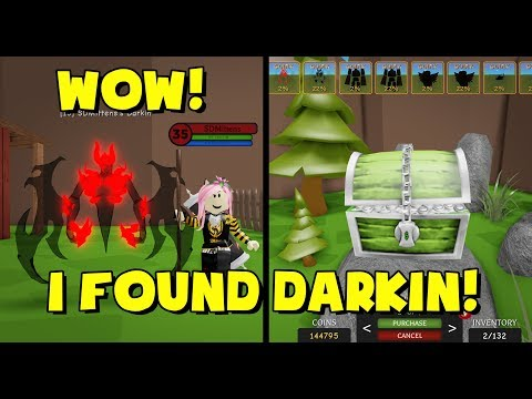 I FOUND DARKIN! OP PET! - Wizard Simulator