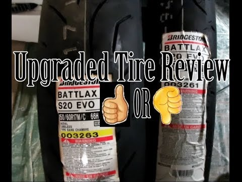MotoVlog Review of Rear Tire upgrade