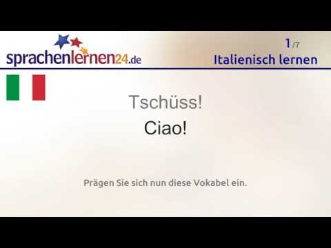 Italienisch lernen (kostenloses Sprachkurs-Video)