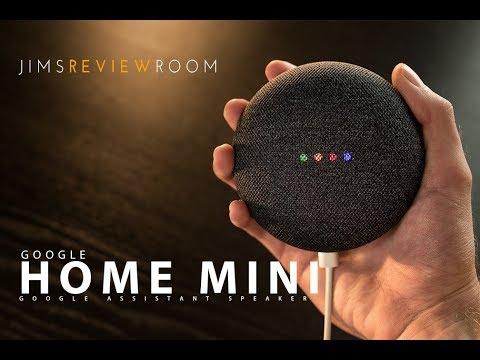 Google Home Mini Smart Speaker - REVIEW
