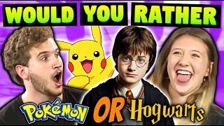 TEENS & ADULTS PLAY WOULD YOU RATHER! - dooclip.me