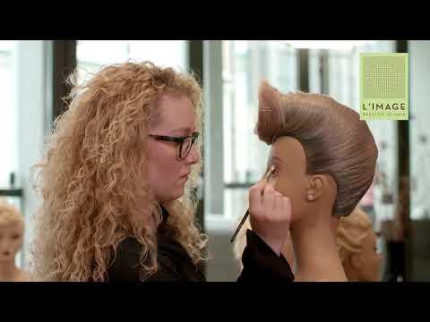 L`IMAGE educationclip 6 / Make Up am Trainingskopf