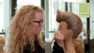 L`IMAGE educationclip 6 / Make Up am Trainingskopf