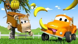 Autogaráž pro děti - Z Carrie je opička - Tomova Autolakovna ve Městě Aut