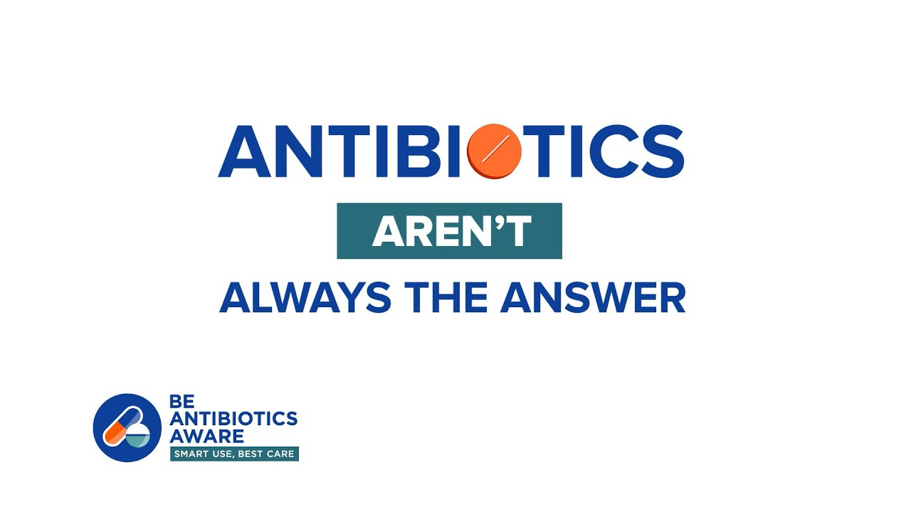 Play Antibiotics Aren't Always The Answer
