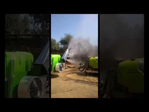 TURBOAPAL - Atomizzatori Portati con Girante Centrifuga