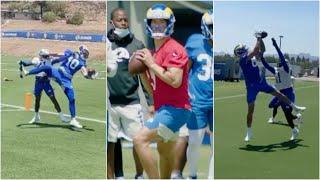 Mathew Stafford LOOKS GREAT Getting WORK W/Rams WR Core 👀 🔥
