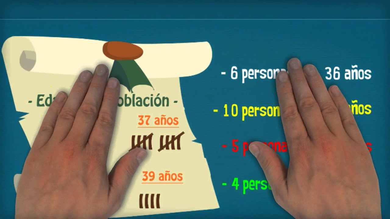 Frecuencias: vídeo infantil educativo de estadística